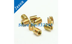 M2  Self Tapping insert/Self Tapping Screw Bushing/Carbon Steel 302 slotted type Wire Thread Repair Insert - AliExpress