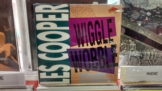 LP LES COOPER - WIGGLE WOBBLE GOLDEN CLASSICS (VG)