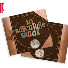 Álbum My Adventure Book | Capa dura 20x23cm