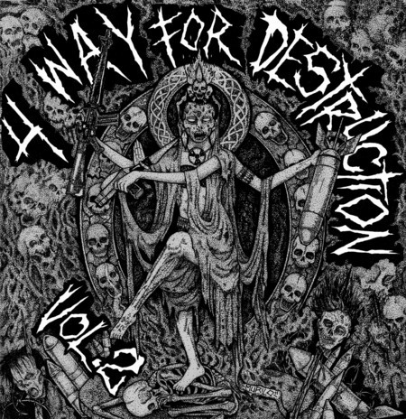 4 WAY FOR DESTRUCTION II (DARGE / DISGUST / DEATH FROM ABOVE / UNFIT