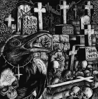 "Crowboar ""Of Tusks and Talons"" CD"