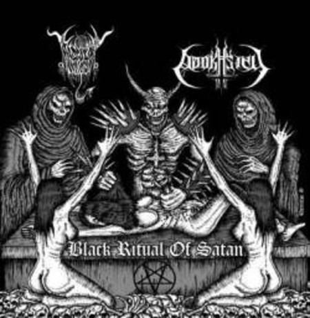 "Adokhsiny/ Black Angel ""Black Ritual Of Satan"" Split CD"