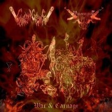 "Chainsaw Carnage / Wargoatcult ""War & Carnage"" Split CD"