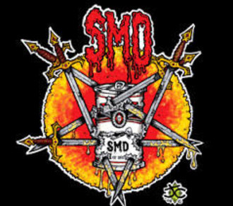 "S.M.D.- ""Motherfucker666"" CD east LA crossover thrash"