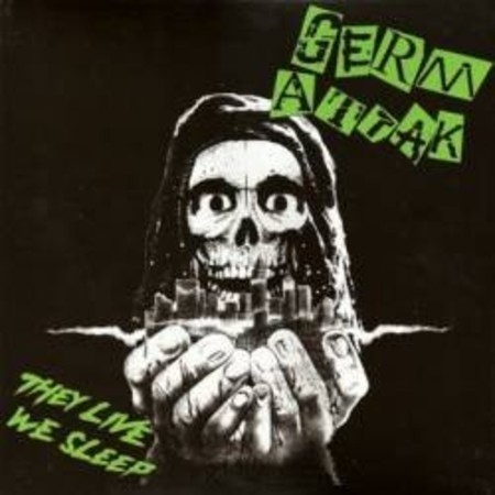 "Germ Attack ""They live we sleep"" CD"