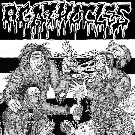 "AGATHOCLES ""Living hell downfall"" 7""EP"