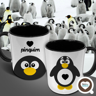 Love pinguim