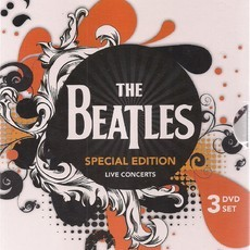 DVD BOX THE BEATLES - SPECIAL EDITION - LIVE IN CONCERTS (3 DVD'S)