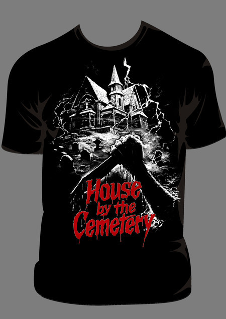 Camiseta - House By The Cemetery