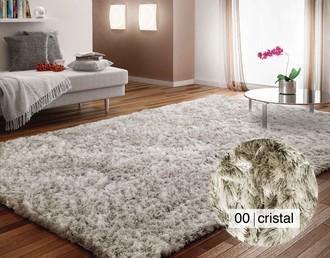 TAPETE TUFTING JOY - CRISTAL