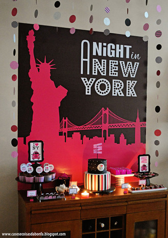 Arte Final para poster A NIGHT IN NEW YORK