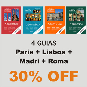Paris + Lisboa + Madri + Roma