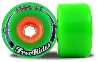 Rodas Abec 11 Freerides 77mm
