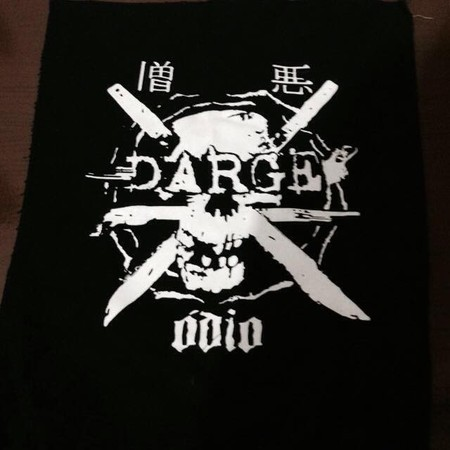 DARGE Ódio - Back Patch