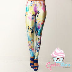 Legging - Princesas Disney