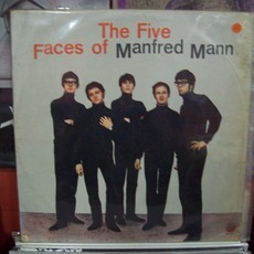 LP MANFRED MANN - THE FIVE FACES OF MANFRED MANN  (F)