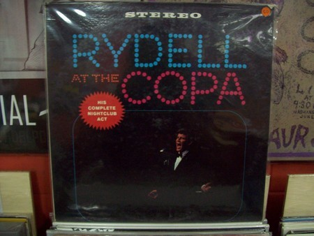 LP BOBBY RYDELL - RYDELL AT THE COPA  (EX)
