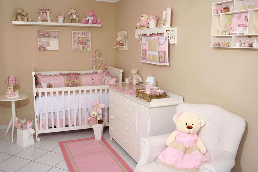 decoracao quarto de bebe jardim encantado : decoracao quarto de bebe jardim encantado:Quarto ursa no jardim – Decoração para quartos de bebê