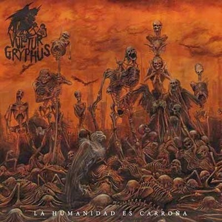 VULTUR GRYPHUS – La Humanidad es Carroña CD