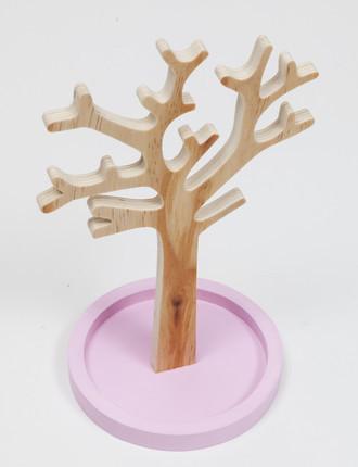Porta Bijoux Árvore Rosa