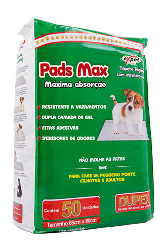 Pads Max – 50 Unidades
