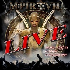 CD MPIRE OF EVIL - LIVE FORUM FEST (NOVO/LACRADO)