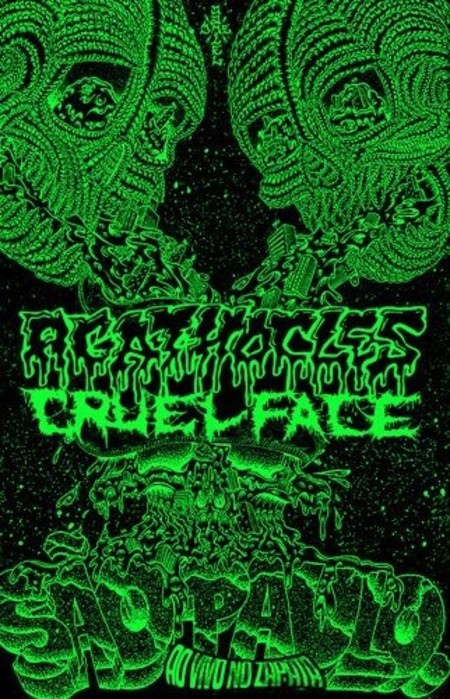 AGATHOCLES / CRUEL FACE Split Cassette Tape