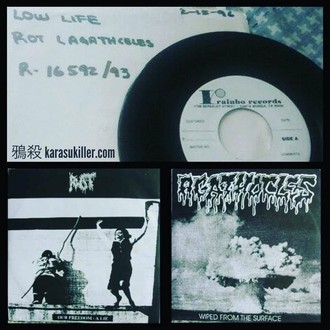 "Rot / Agathocles - Split 7""EP (Test Pressing 45rpm)"