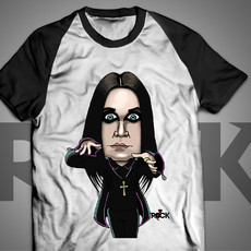 Ozzy Osbourne -Black Sabbath- Camiseta Exclusiva