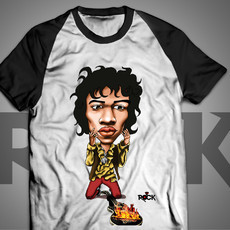 Jimi Hendrix - Camiseta Exclusiva