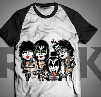 Kiss - Camiseta Exclusiva