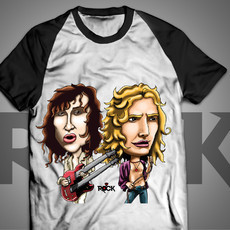Robert Plant - Jimmy Page - Led Zeppelin - Camiseta Exclusiva