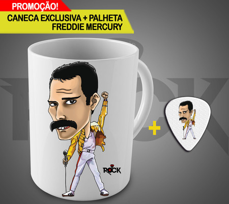 Freddie Mercury - caneca exclusiva
