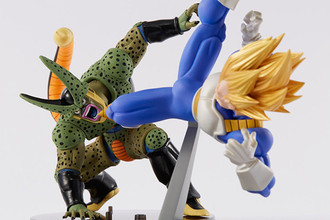 Banpresto Scultures Vegeta SSJ e Cell