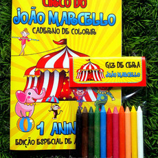 Kit de Colorir Circo