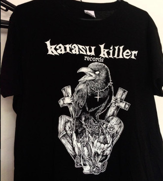 Karasu Killer Grinder 10 Years T-Shirts