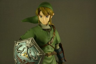Dark Horse Deluxe Legend of Zelda Twilight Princess Link