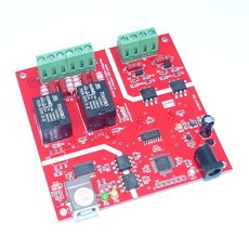PLACA CONTROLADORA C/INTERFACE USB ISOLADA 2 ENTRADAS E 2 SAÍDAS