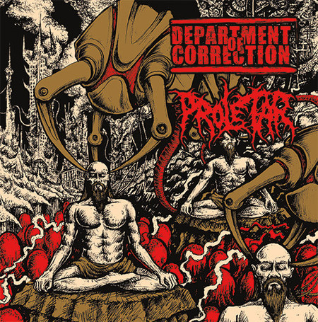 DEPARTMENT OF CORRECTION / PROLETAR - SPLIT CD