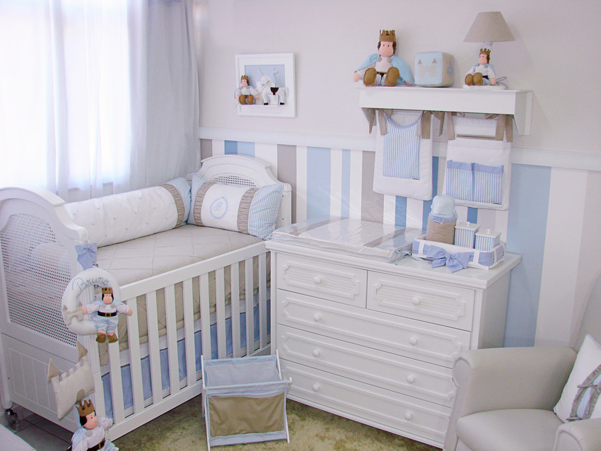 Ideias Decoracao Para Quarto De Bebe ~ Quarto completo Pr?ncipe  Decora??o para quartos de beb?