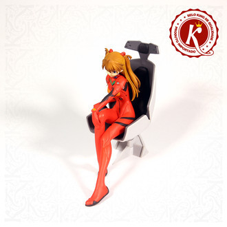 Sega Evangelion Girl With Chair Shikinami Asuka Langley