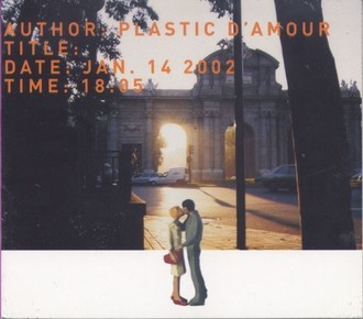 CD PLASTIC D´AMOUR - AUTHOR:PLASTIC D´AMOUR/TITLE:JAN 14 2002 (USADO)