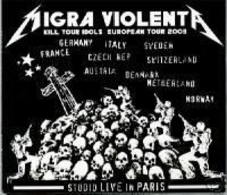 Migra Violenta ‎– Studio Live In Paris Digipak CD