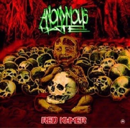 Anonymous Hate - Red Khmer CD