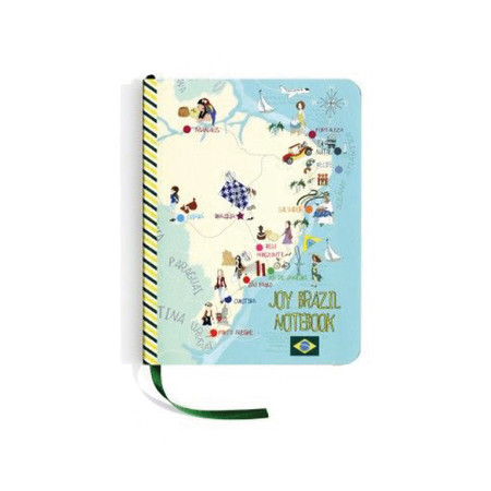 Joy Brazil Notebook, Joy Paper