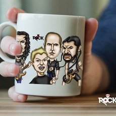 Caneca exclusiva Metallica