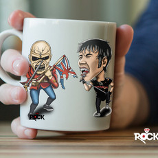 Caneca Iron Maiden (Bruce Dickinson)