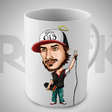 Caneca Exclusiva Chorão (Charlie Brown Jr)