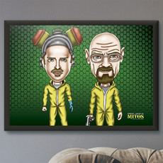 Breaking Bad - Quadro com Moldura