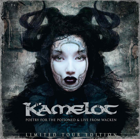 CD KAMELOT - POETRY FOR THE POISONED & LIVE FROM WACKEN (CD DUPLO)